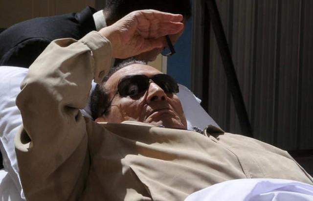 EGYPT-POLITICS-TRIAL-MUBARAK
