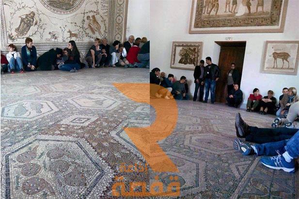 متحف باردو_ احتجاز سياح 19-03-2015
