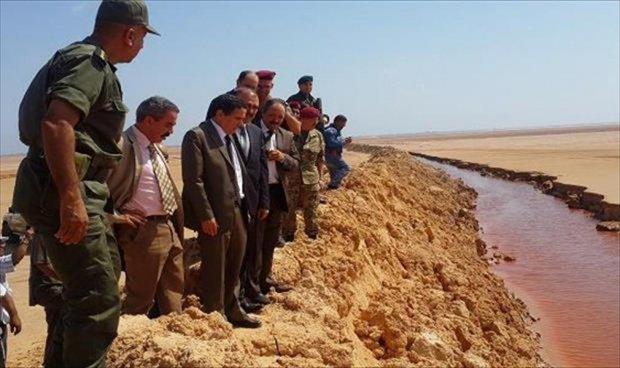 حدود تونس  ليبيا