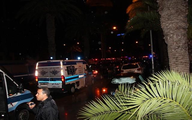 تفجير الحافلة_تونس24-11-2015