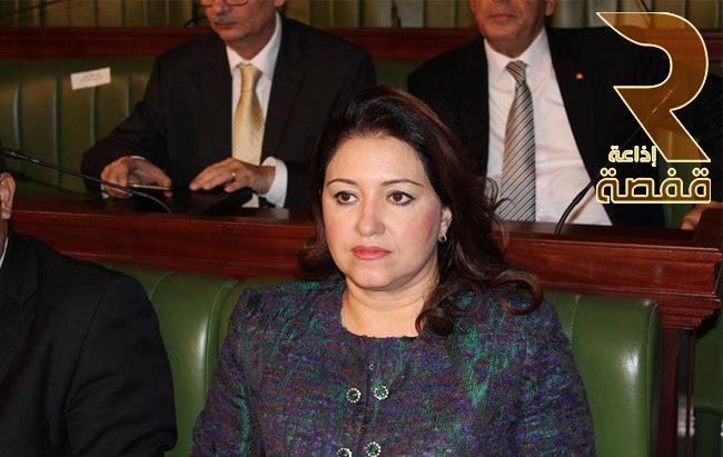 سنية مبارك وزيرة الثقافة والمحافظة على التراث