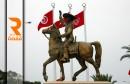 تمثال الحبيب بورقيبة_المنستير 06-04-2016