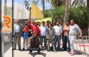 وقفة احتجاجية لأحباء القوافل الرياضية بقفصة26-04-2016