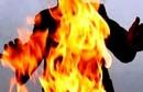 حرق_مرأة_نفسها