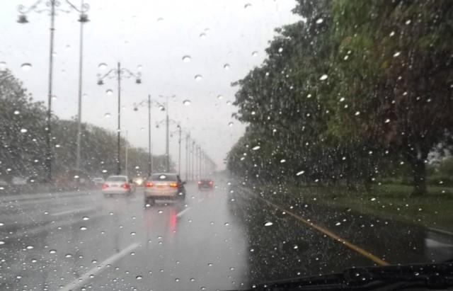 أمطار متفرقة