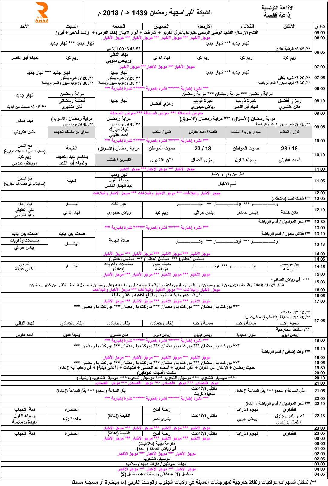 شبكة-برامج-رمضان-2018