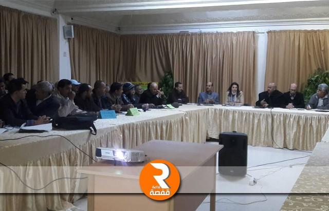 خطة مشتركة للتحكم في استغلال المائدة المائية بالبراقة بولاية سيدي بوزيد