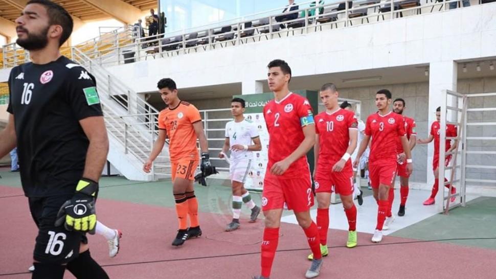 كاس العرب للاواسط المنتخب التونسي الى نصف النهائي