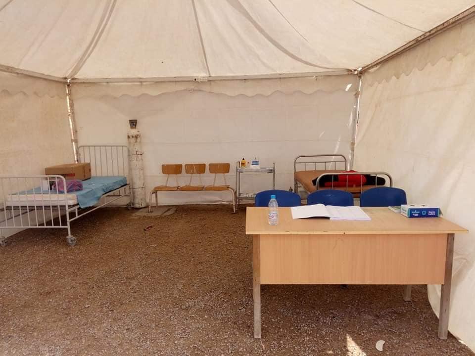 خيمة مستشفى المتلوي