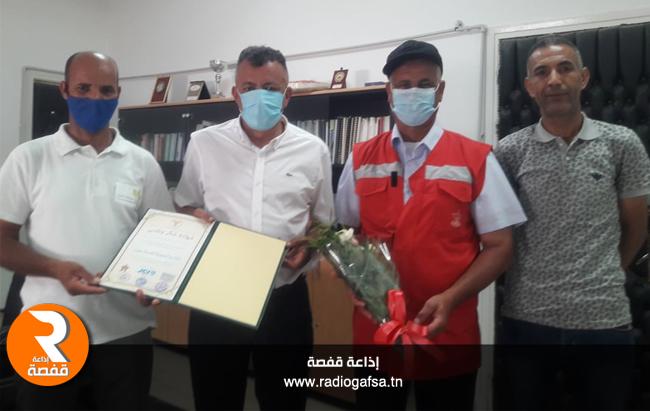 المدير الجهوي للصحة بتوزر تكريم 454559963325