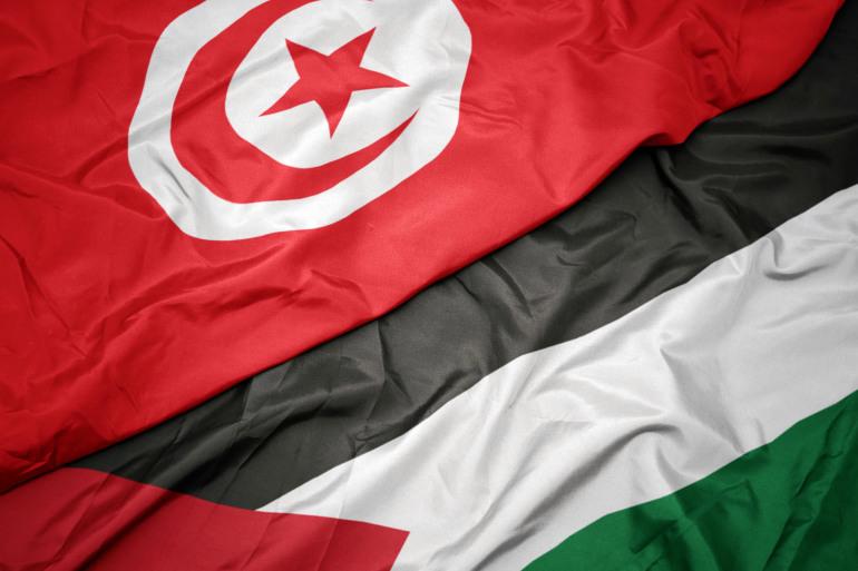 تونس فلسطين