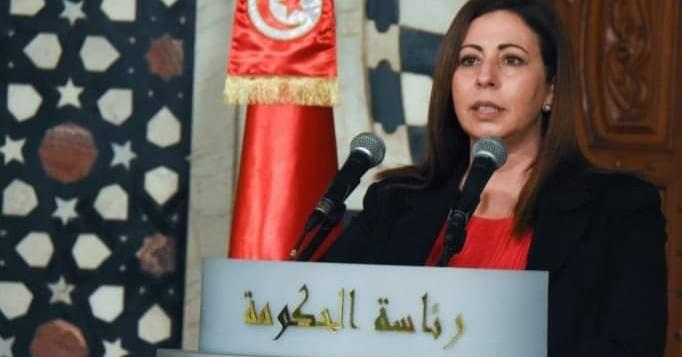 وزيرة العدل بالنيابة حسناء بن سليمان،