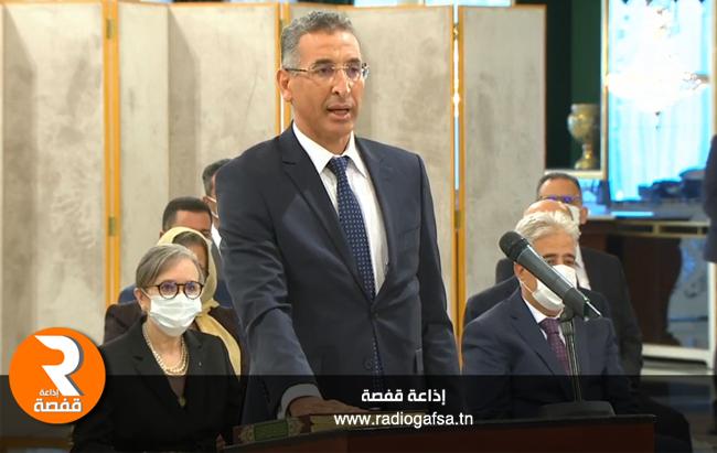 توفيق شرف الدين وزير الداخلية