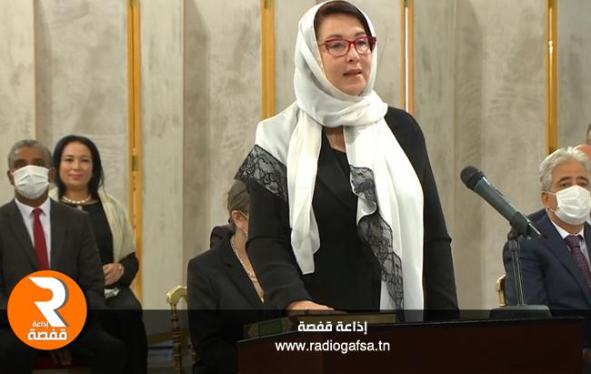 وزيرة الشؤون الثقافية